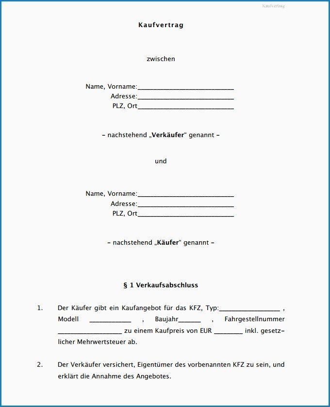 Schweizer Kaufvertrag Auto Gratis Als Pdf Online Erstellen