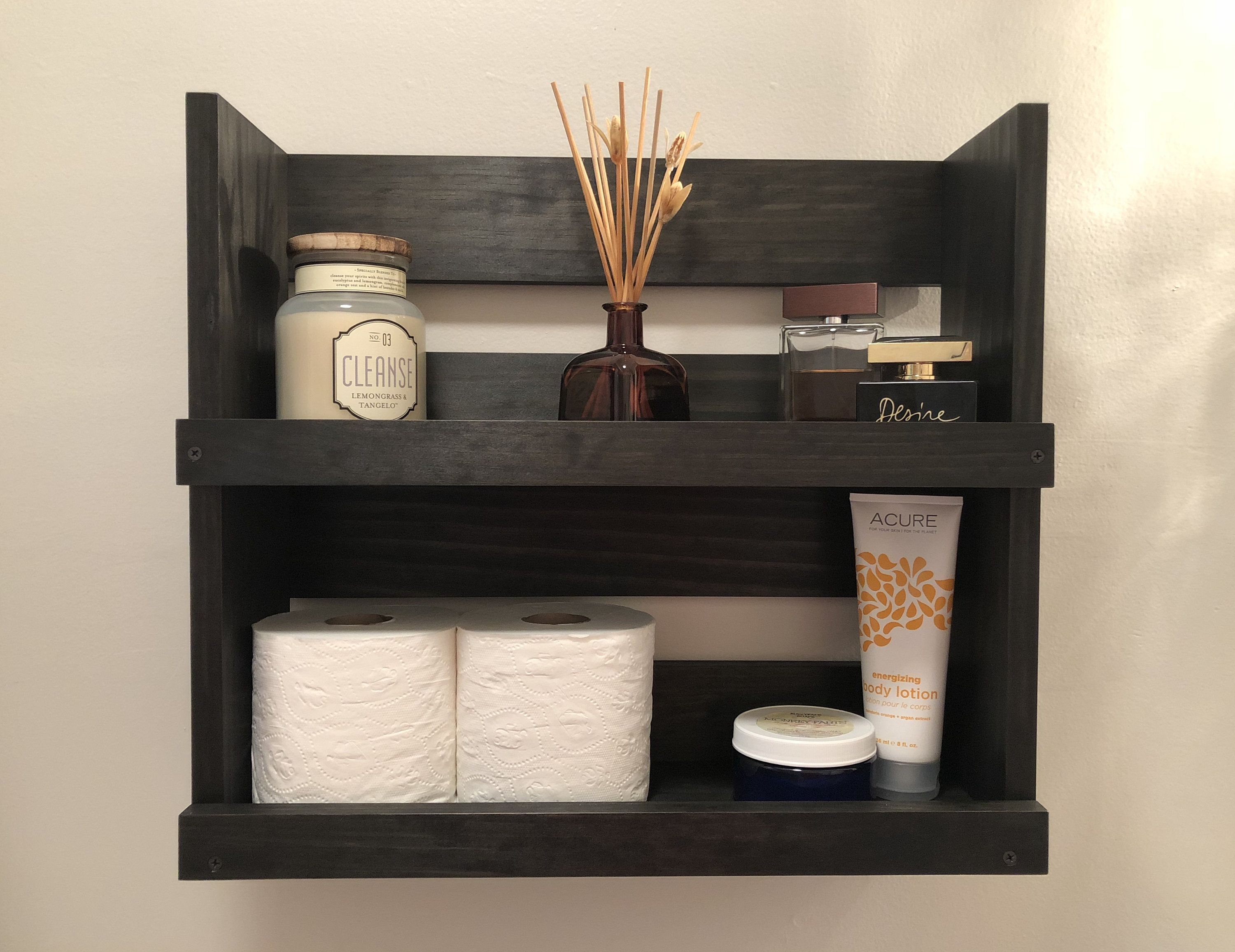 Modern Bathroom Storage Shelf Modern Wall Mounted Wall Hanging