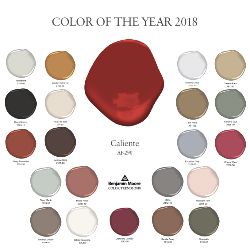 Benjamin Moore 39 S 2018 Color Of The Year Is Here Benjamin