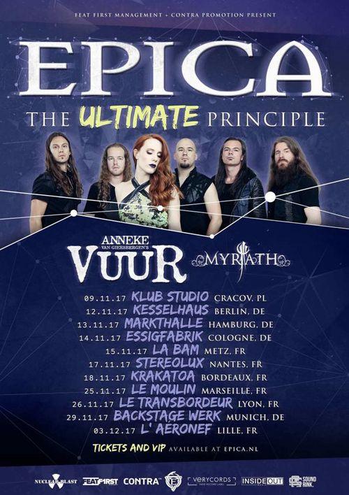 On Tour: Epica – The Ultimate Principle Tour