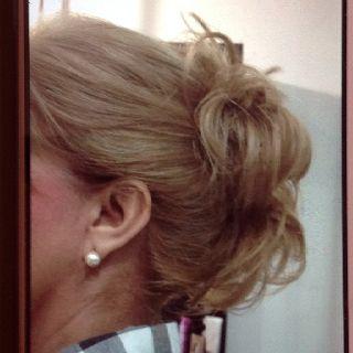 Peinado. Doris moya