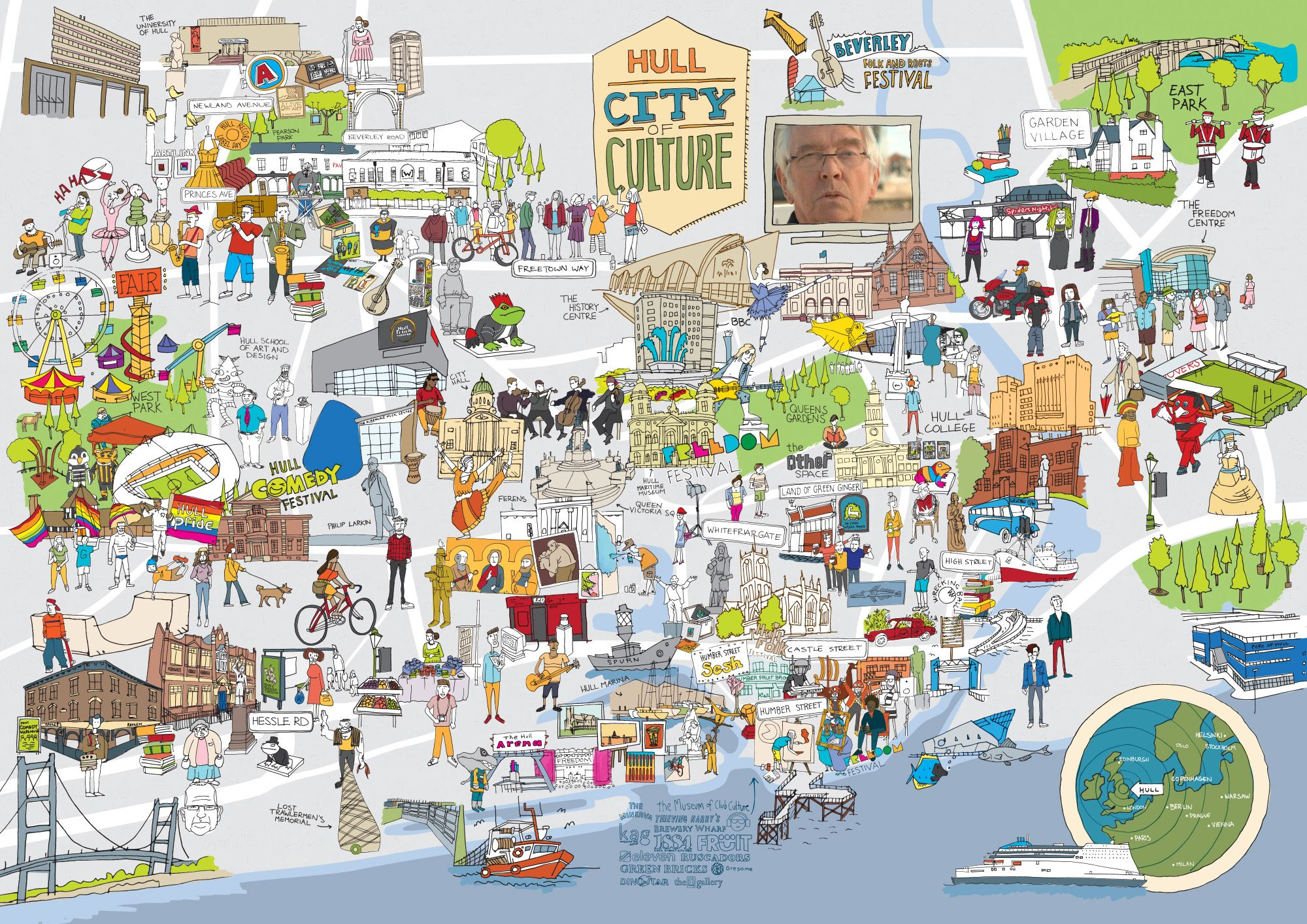 Vhey city of culture interactive map east yorkshire pinterest vhey city of culture interactive map gumiabroncs Choice Image