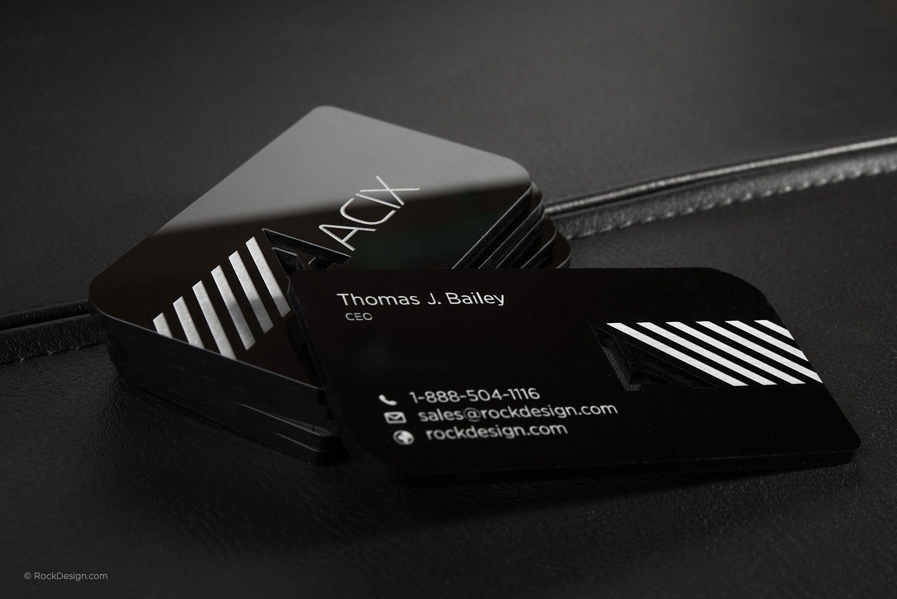 Acrylic business cards rockdesign luxury business card printing acrylic business cards rockdesign luxury business card printing reheart Images