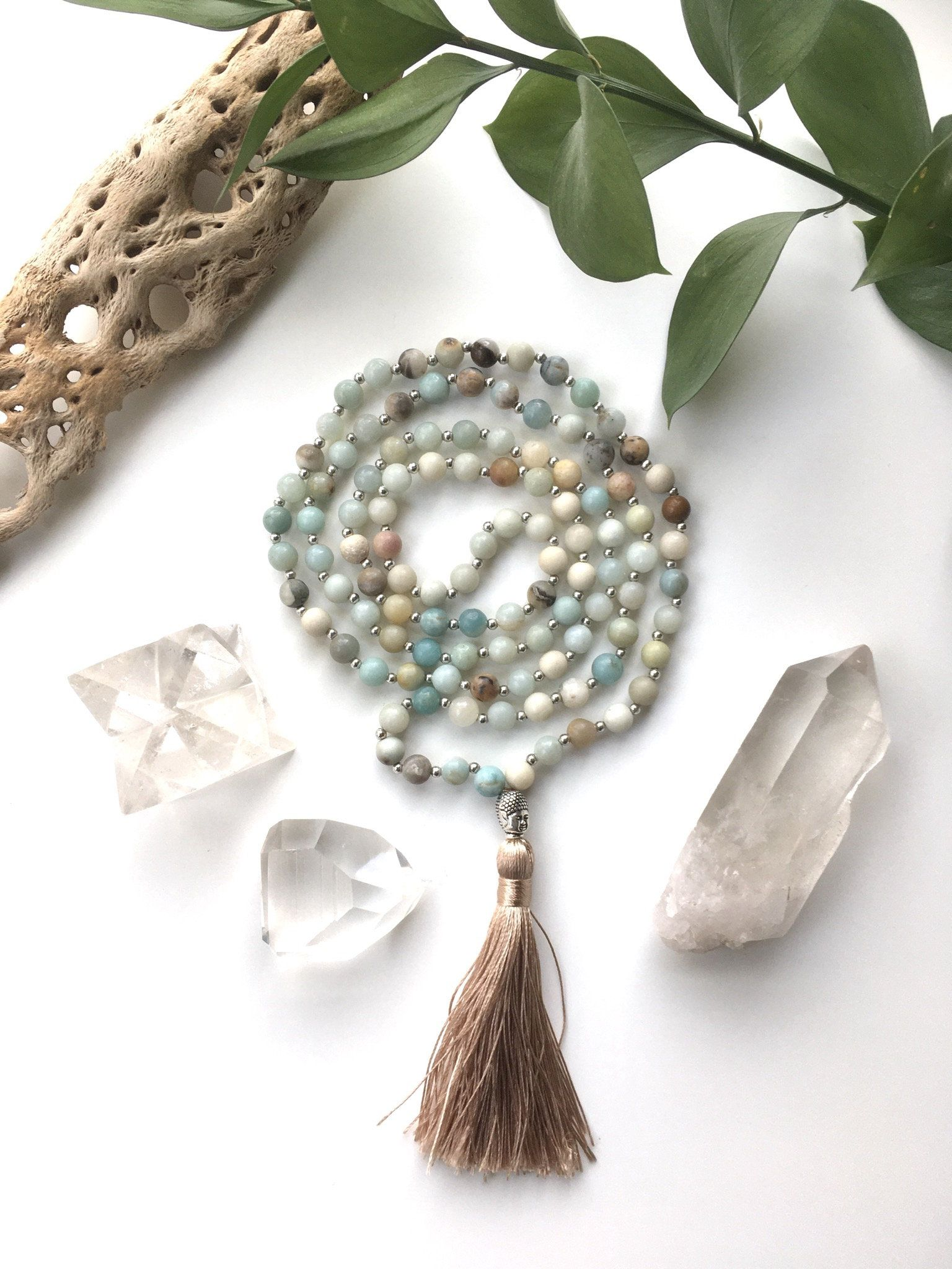Mala Necklace Mala Beads Necklace 108 Mala Bead Mala Beads