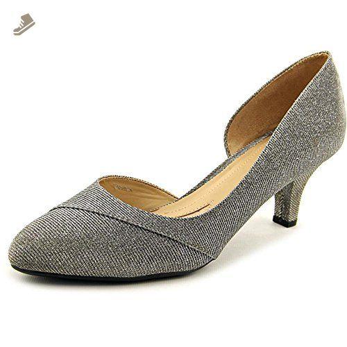 Naturalizer Deva Women US 8.5 Silver Heels - Naturalizer pumps for women (*Amazon Partner-Link)
