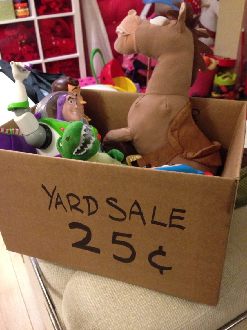 Toy Story Yard Sale Decorations With Images Toy Story