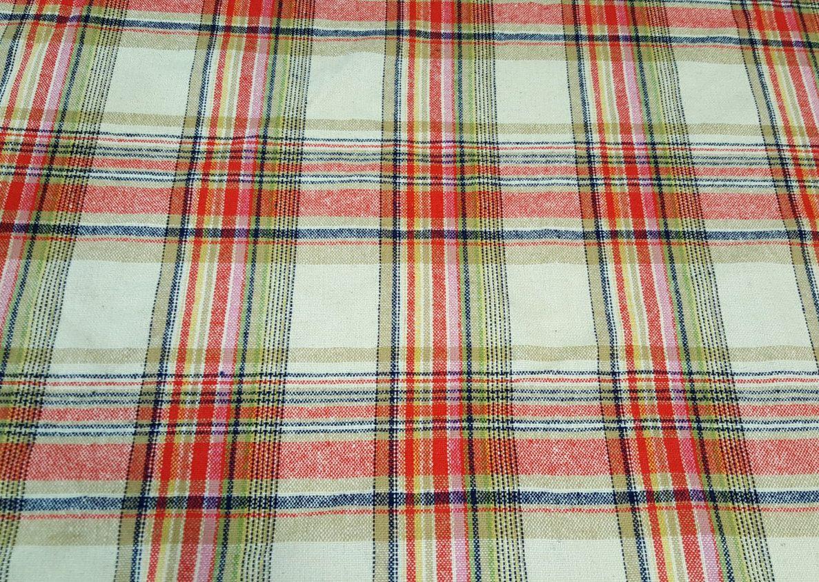 Vintage wool fabricstewartroyal wool fabric retro wool