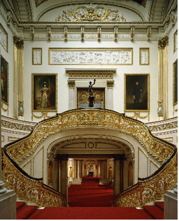 The Grand Staircase in Buckingham Palace
