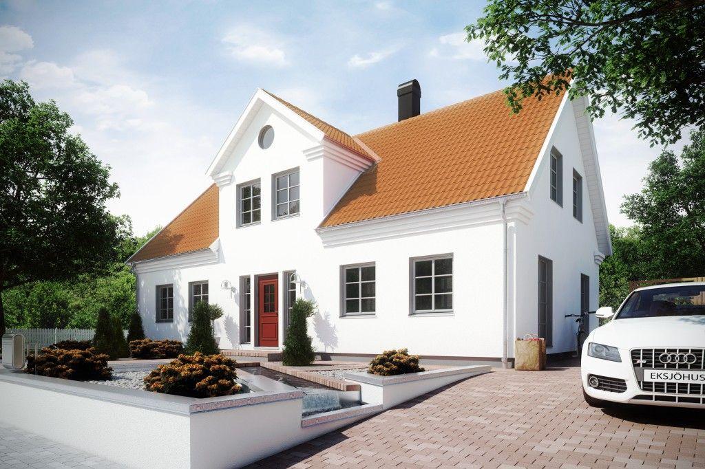Skanör Eksjöhus Haus, Fassade haus, Haus bungalow