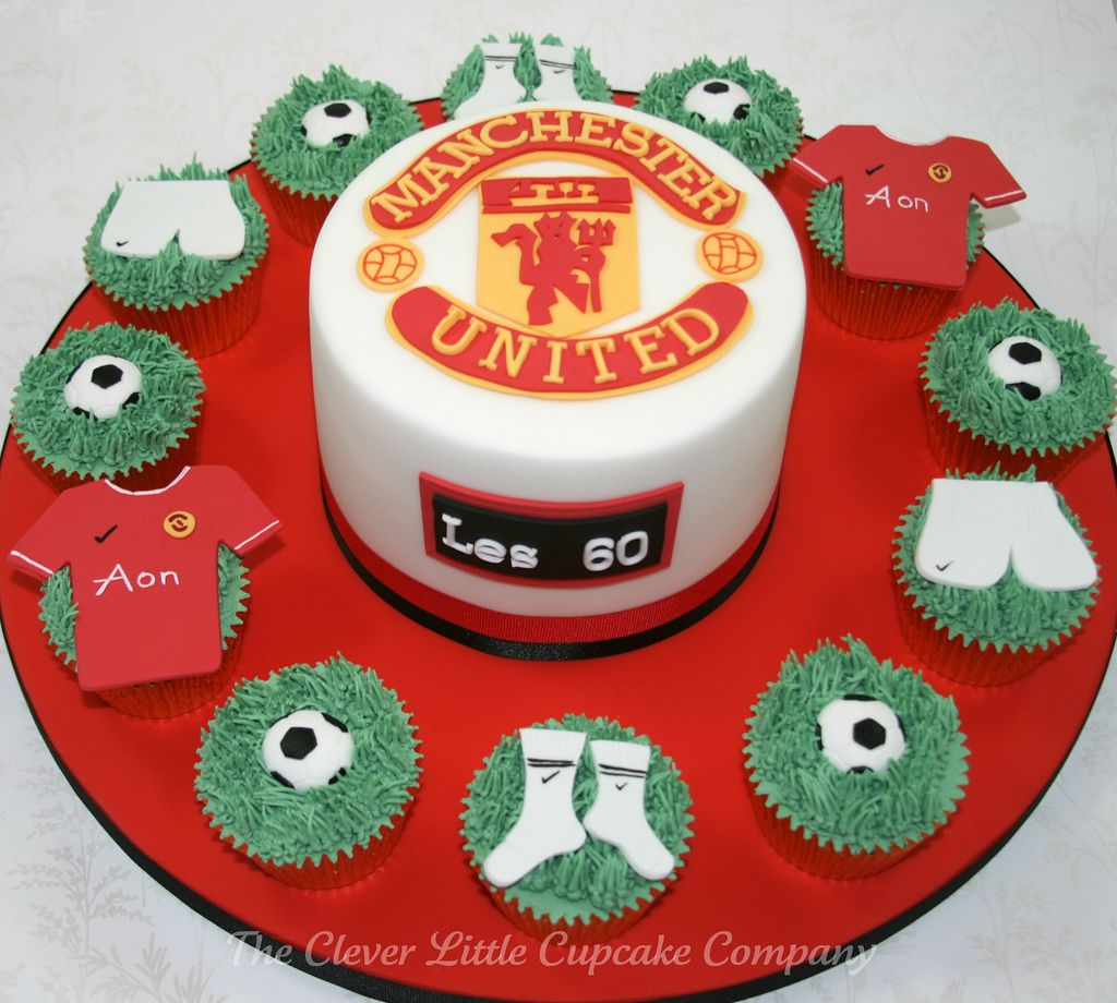 Manchester City Football Cake Toppers