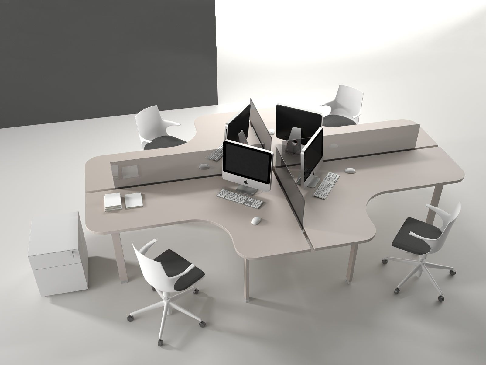 Best Images About Alea Workstations  Open Plan On Pinterest - Open office furniture