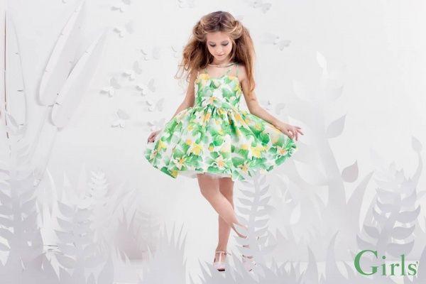 8aa576748 vestido flores amarillas para nena verano 2016