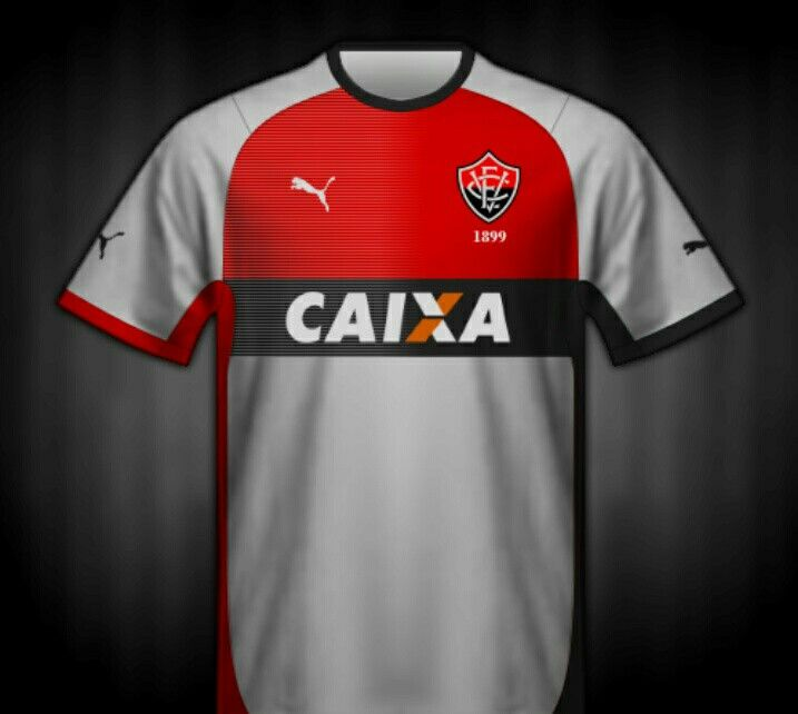 EC Vitoria of Brazil away shirt for 2014.  a62290969
