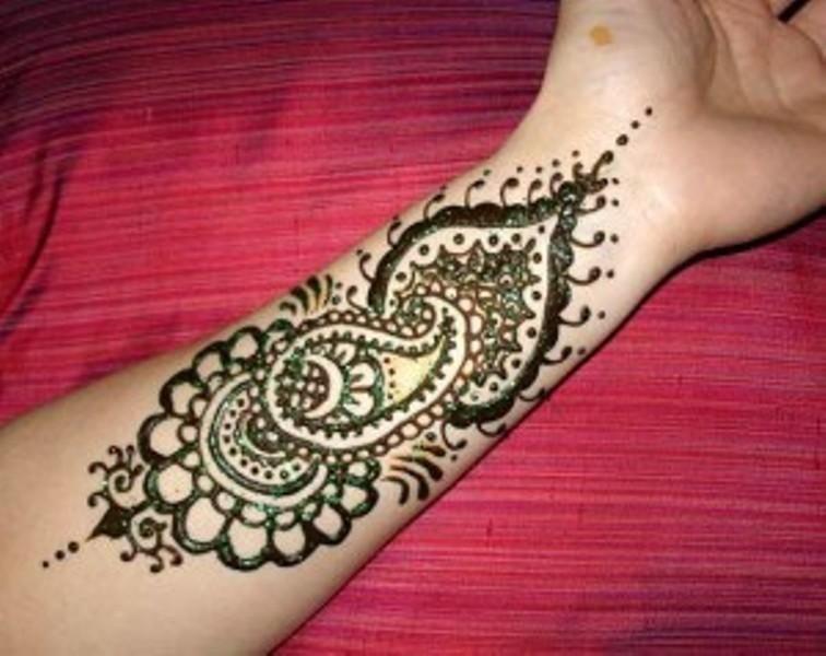 Mehndi Designs Open : Arm pakistani mehndi designs women fashi henna