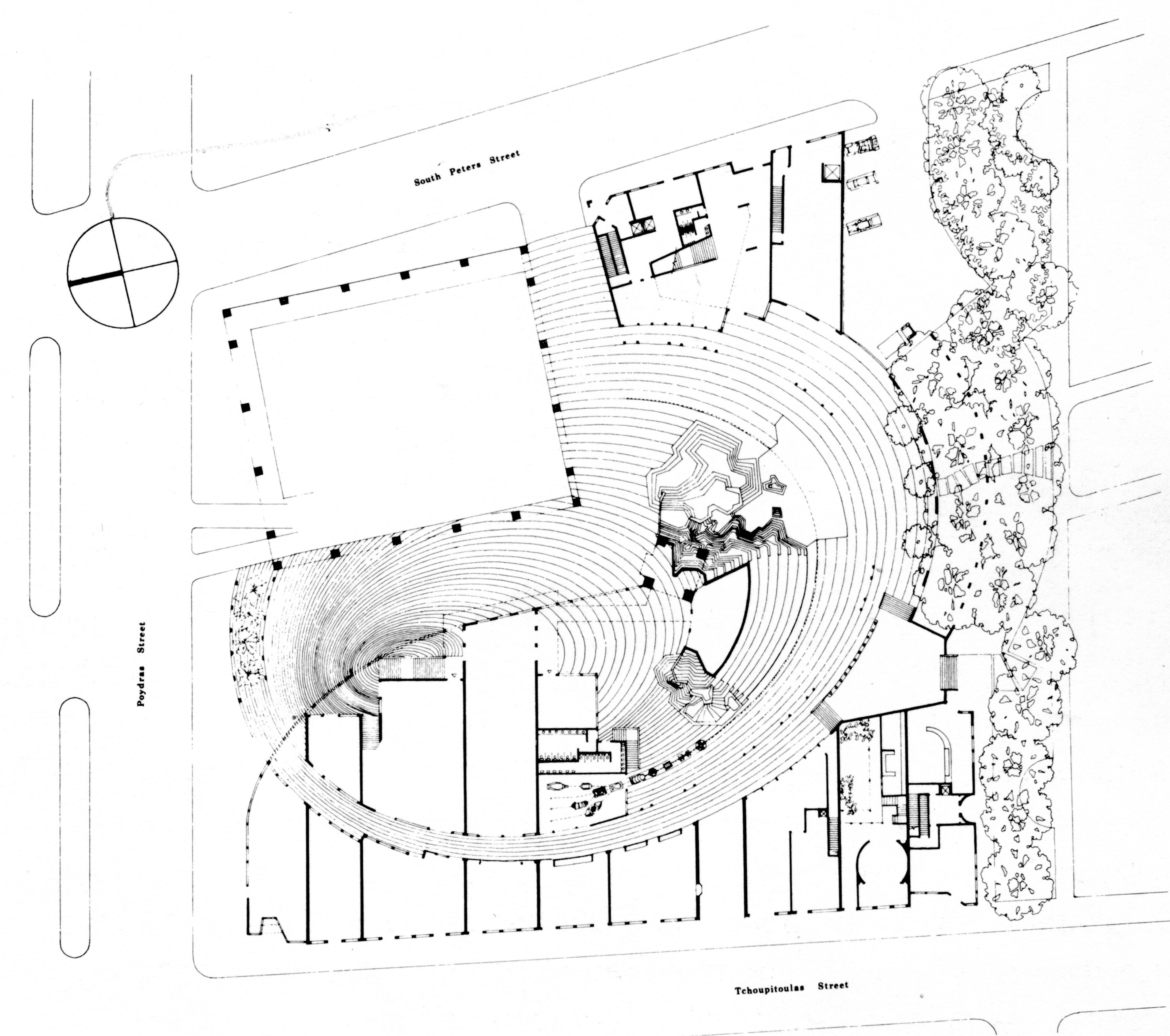 Site Plan For Urban Innovations Charles Moore Principal