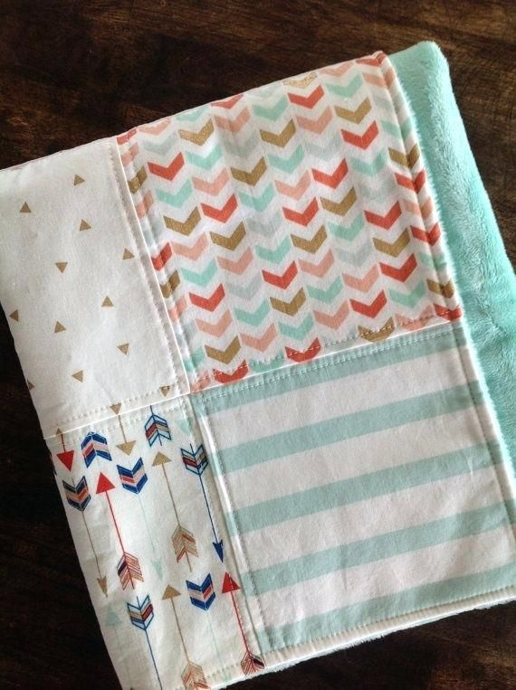 Baby Quilt Pattern Book Items Similar Blanket Baby Pinterest
