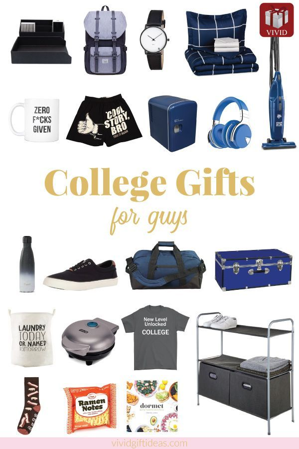 20+ Gift Ideas for College Freshmen (Gift Guide for Guys ...