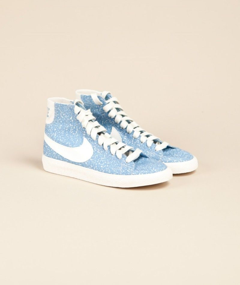 NIKE Blazer Blue really want these!