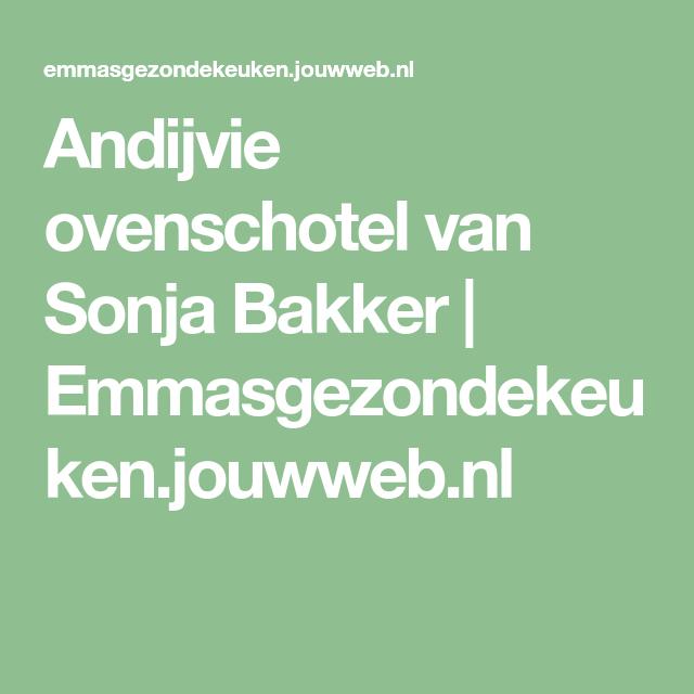 Andijvie ovenschotel van Sonja Bakker | Emmasgezondekeuken.jouwweb.nl