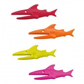 #koziol #sharky #klammern #clip #shark #haifisch #animal #design Klammer Sharky - Haifisch als Klammer von Koziol