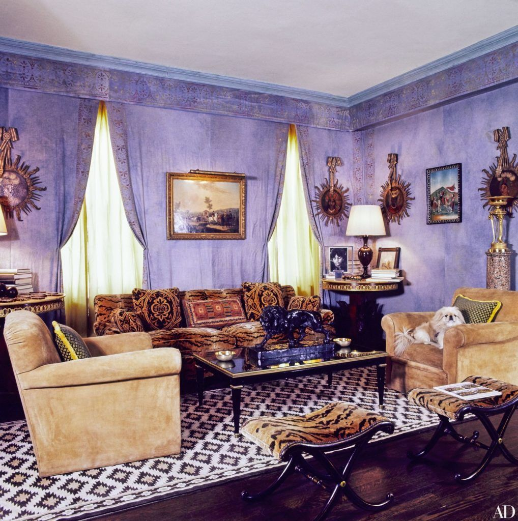 Regency Park Apartments Office Hours: Lee Radziwill's Timeless Interiors