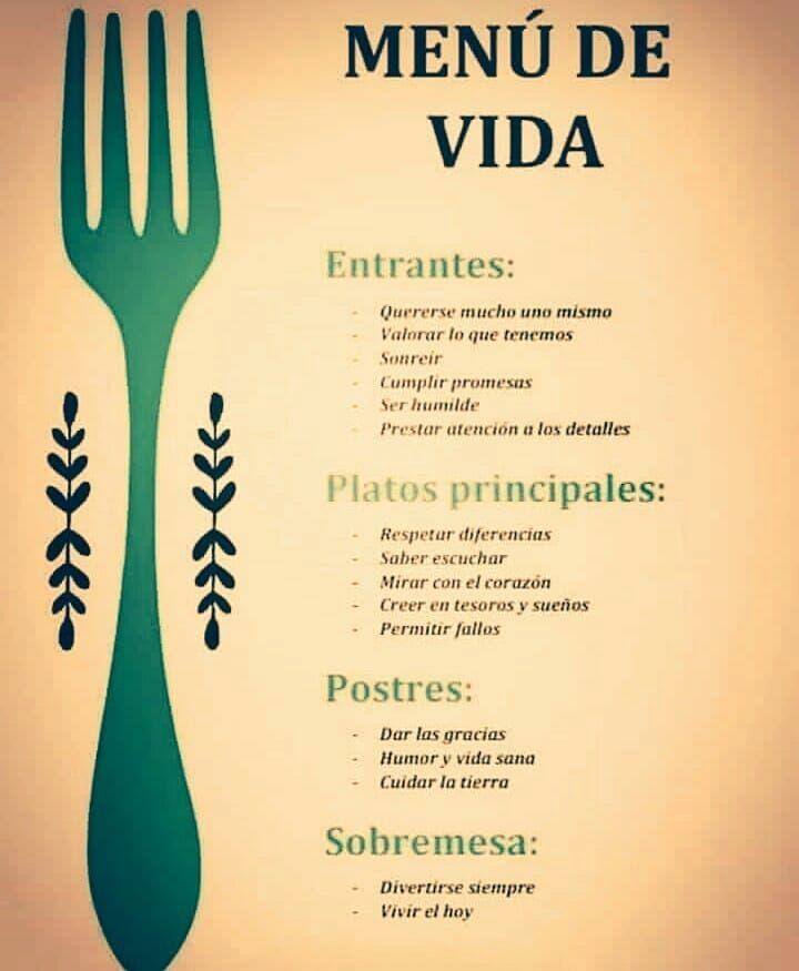 Además de alimentar y ejercitar tu cuerpo es importante cuidar lo que esta  en tu corazón para que haya equilibrio mente cuerpo y alma. 5768bcd5cd48