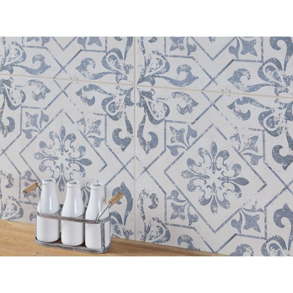 Lotto Ceramic Tile Ceramic Tile Bathrooms Patterned Tile Backsplash Blue Tile Backsplash
