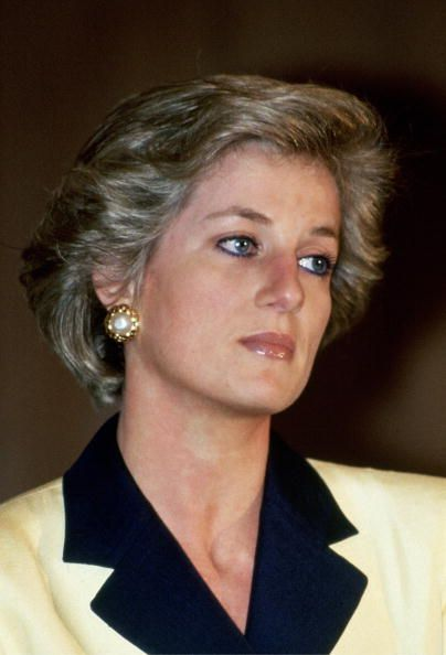Princess Diana Attending An Agricultural Fair #princessdiana