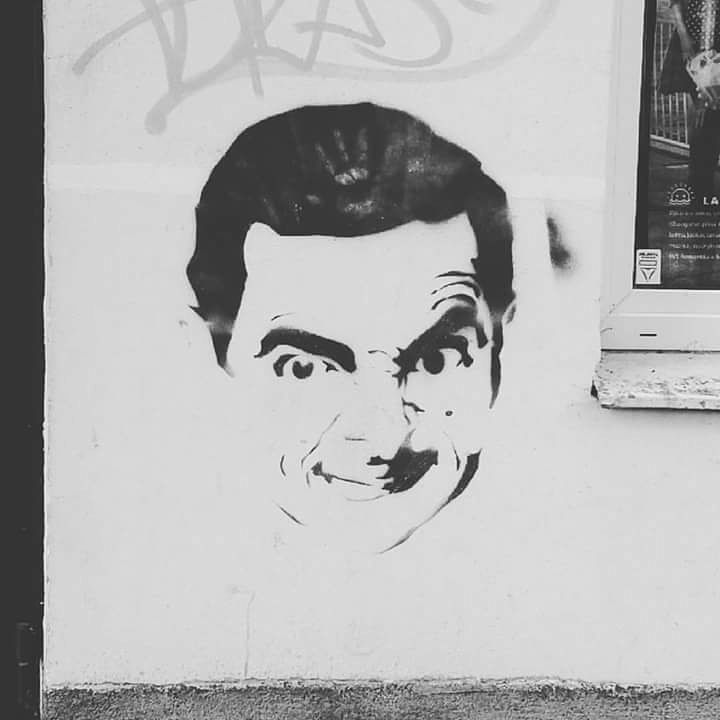 Mr. Bean and his Friday smile! � Found in Panevėžys, the fifth largestcity in Lithuania. Didn't expected to find him here, near the bus station. � . . . . . #streetart #art #gatvesmenas #mrbean #mrbeanfan #funny #smile #friday #funday #panevezys #busstation #wall #outsideart #unexpected #findings #walking #exploaring #city #flashback #flashbackfriday #lithuania #lietuva #travel #cometolithuania #visitlithuania #streetartphotography #streetartdaily #art_daily #streetartcommunity #streetartlove
