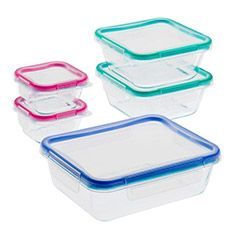 Your Complete Guide To The Best Meal Prep Containers Bodybuilding Com Glass Food Storage Food Storage Set Snapware