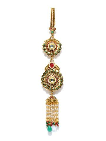 Bindhani Gold toned Juda   Myntra