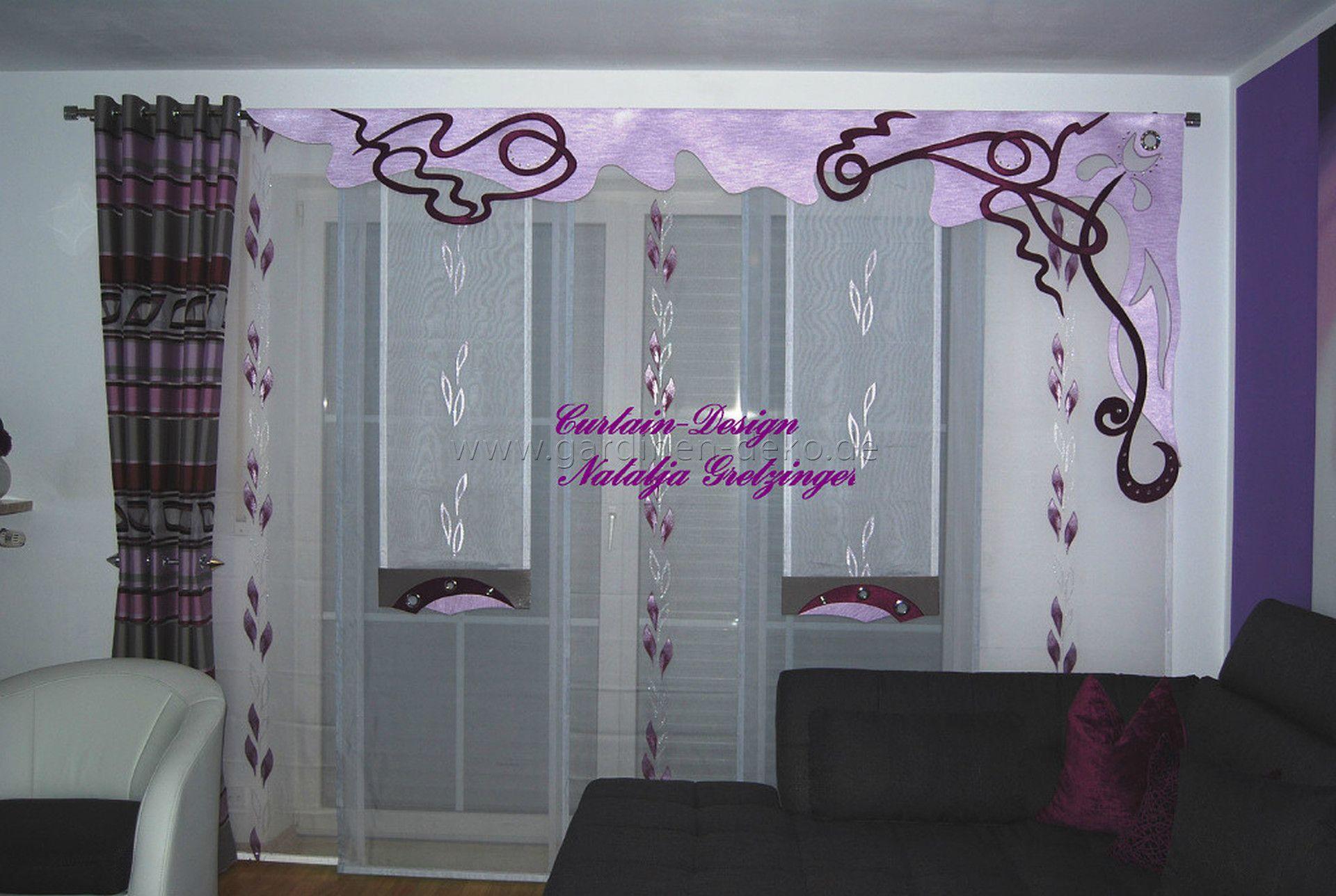 tipps gardinen wohnzimmer | Wohnzimmer Wände Streichen Ideen ...