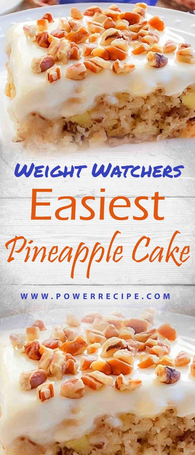 Easiest pineapple cake easy pineapple cake pineapple