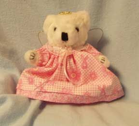 Pink Ribbon Bear Made By Debbie Form Bear Family Gifts
