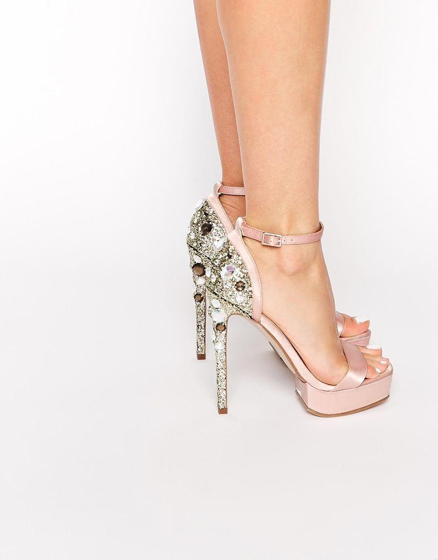Image 1 of ASOS HATTON Heeled Sandals