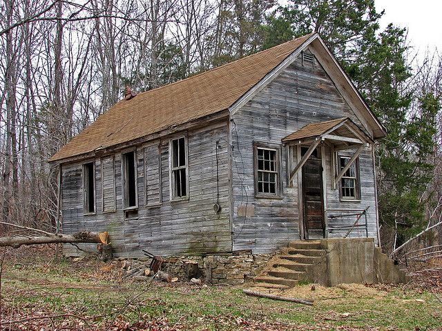 Varnel One-Room Schoolhouse in Texas County Missouri | Old ... Old One Room School Building