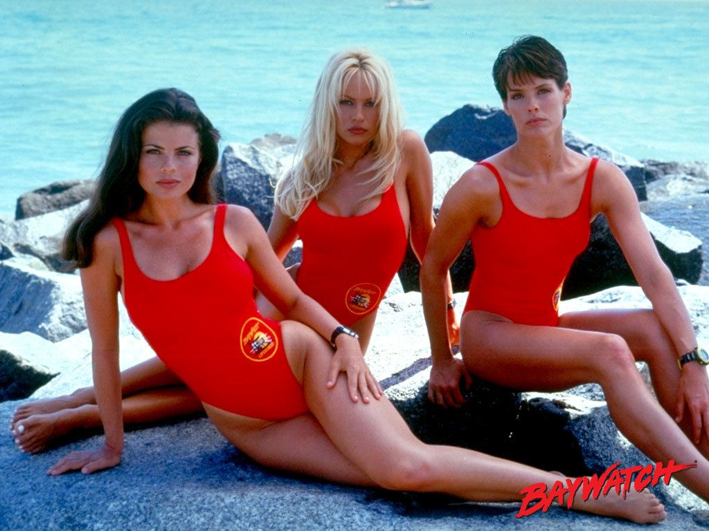 7 Beautiful Women In One Pieces Baywatch Fun One Piece Swimsuit