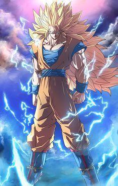 Goku Super Saiyan 3 Desenhos Dragonball Z Dragon Ball E