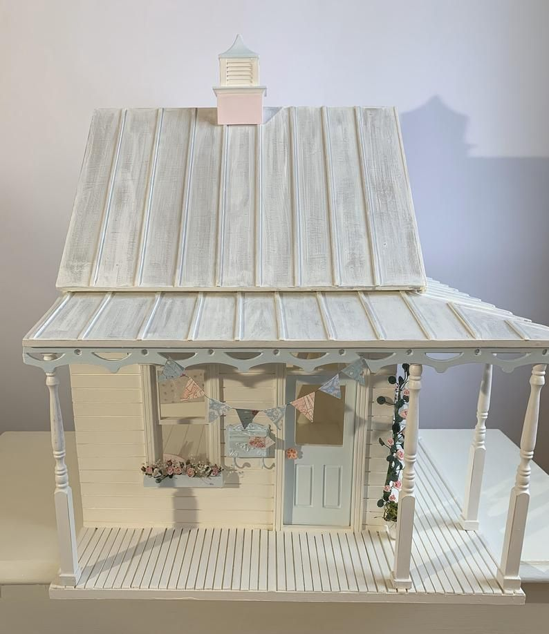 Shabby Chic Dollhouse custom made