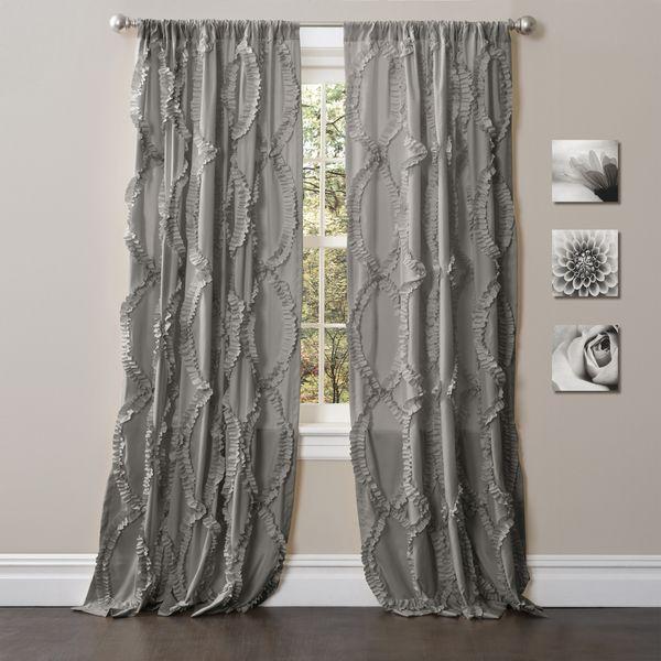 Lush Decor 84 Inch Avon Curtain Panel