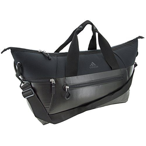 54b4ee9a6 Adidas Studio Duffel Bag Black MetallicBlack OneSize >>> Learn more by  visiting the image link. Note:It is Affiliate Link to Amazon.