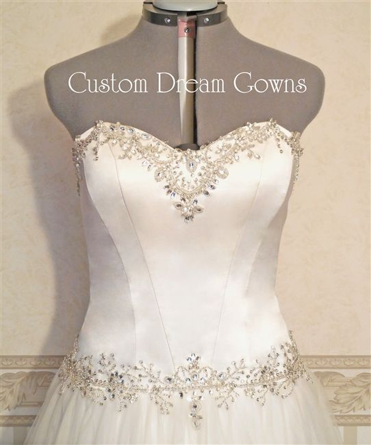 #Wedding Dresses & Bridal Gowns. Custom Dream Gowns