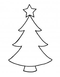 Pin By Md On Christmas Clip Art Black And White Christmas Tree Outline Christmas Tree Drawing Christmas Tree Clipart
