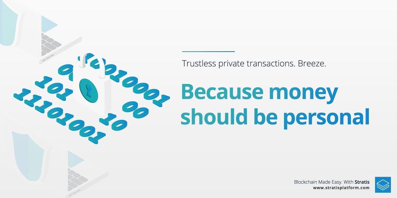 Stratis Breeze Wallet ! #privacy #breeze #breezewallet