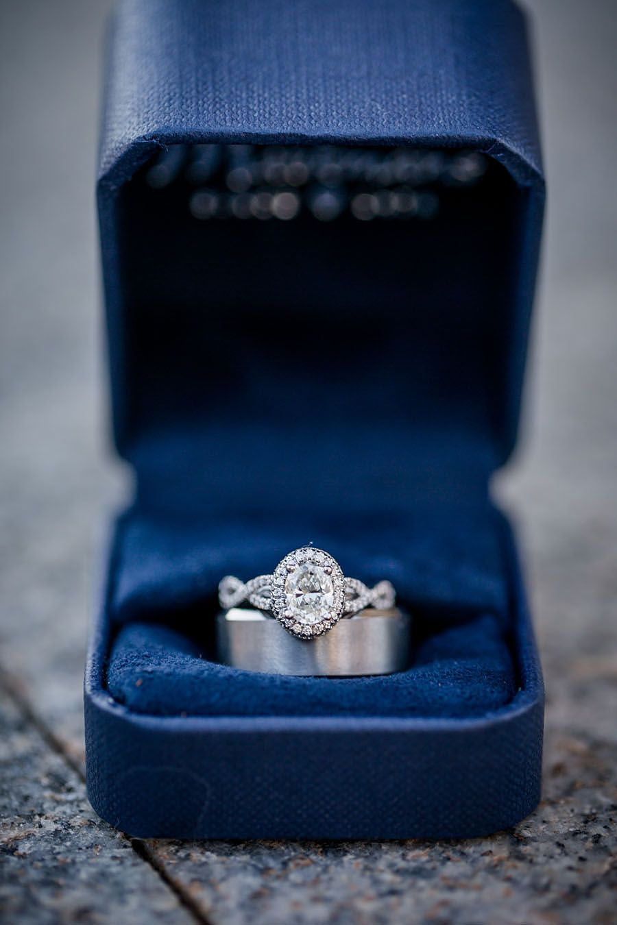 Wedding ring detail pictures at Lee University Chapel by Amanda May Photos