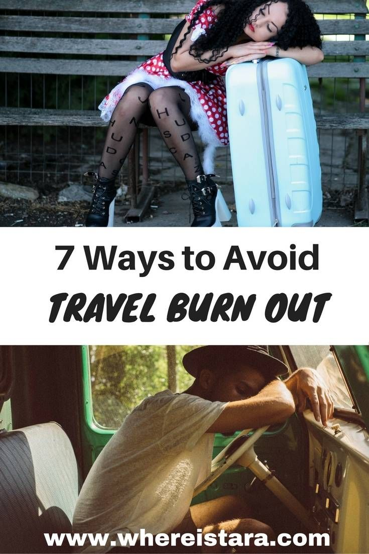 How to avoid travel burn out while on the road. This and more travel lifestyle tips on - Where Is Tara?