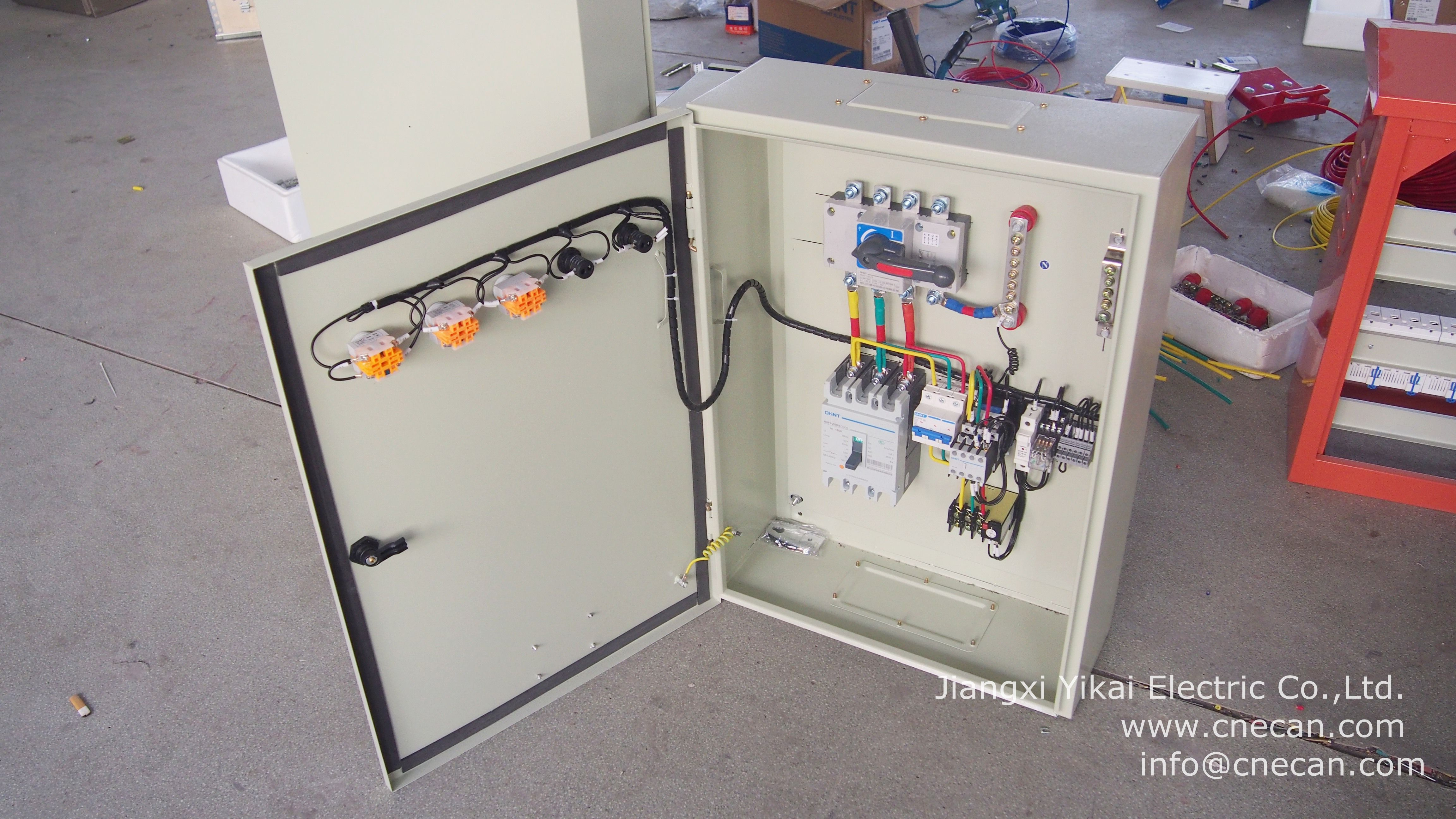 Jiangxi Yikai Electric Distribution Boards It Is Applicable For