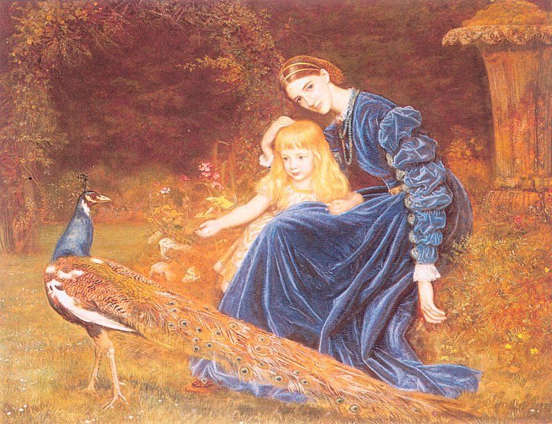 Arthur Hughes, Mrs. Grant Duff and Adrian, 1872-73