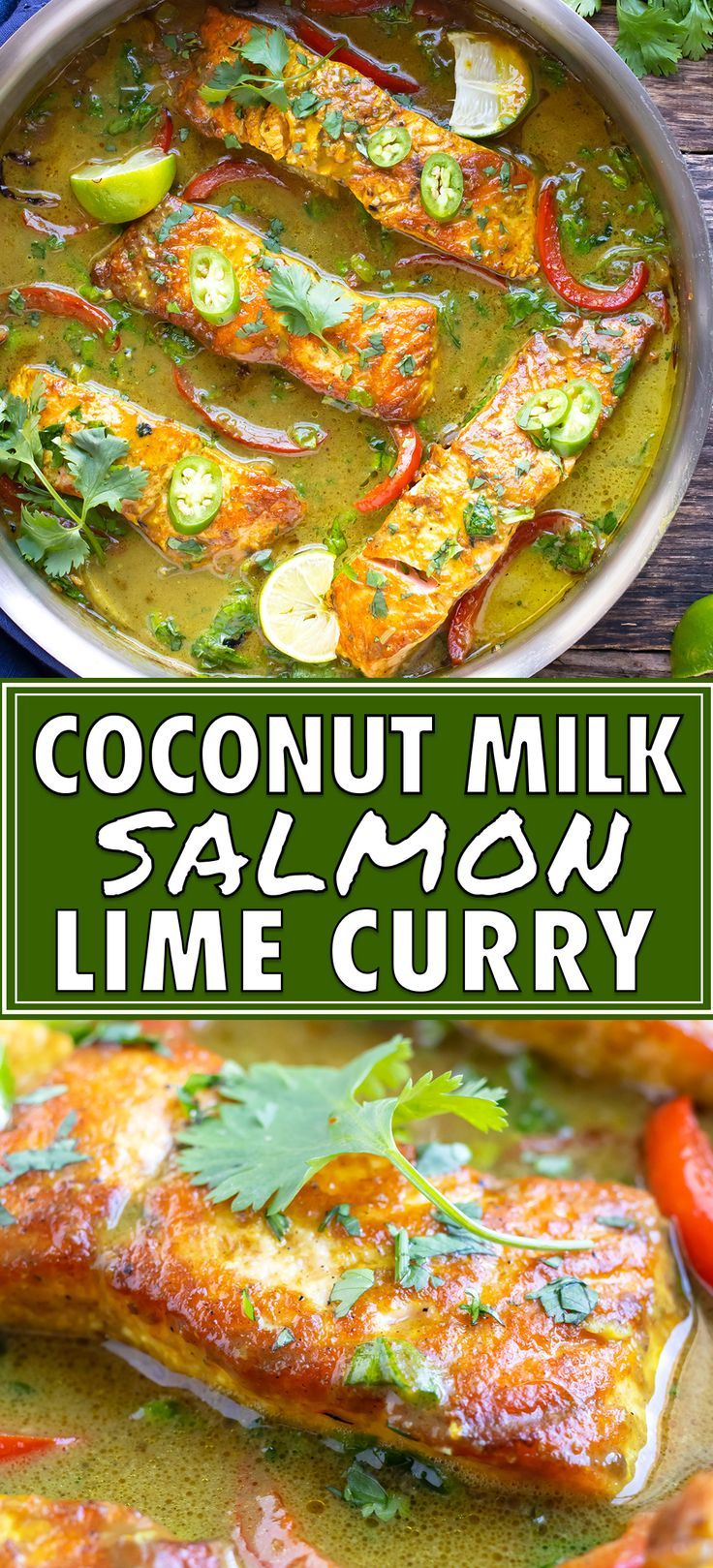 Easy Salmon Curry with Coconut Milk - Evolving Table
