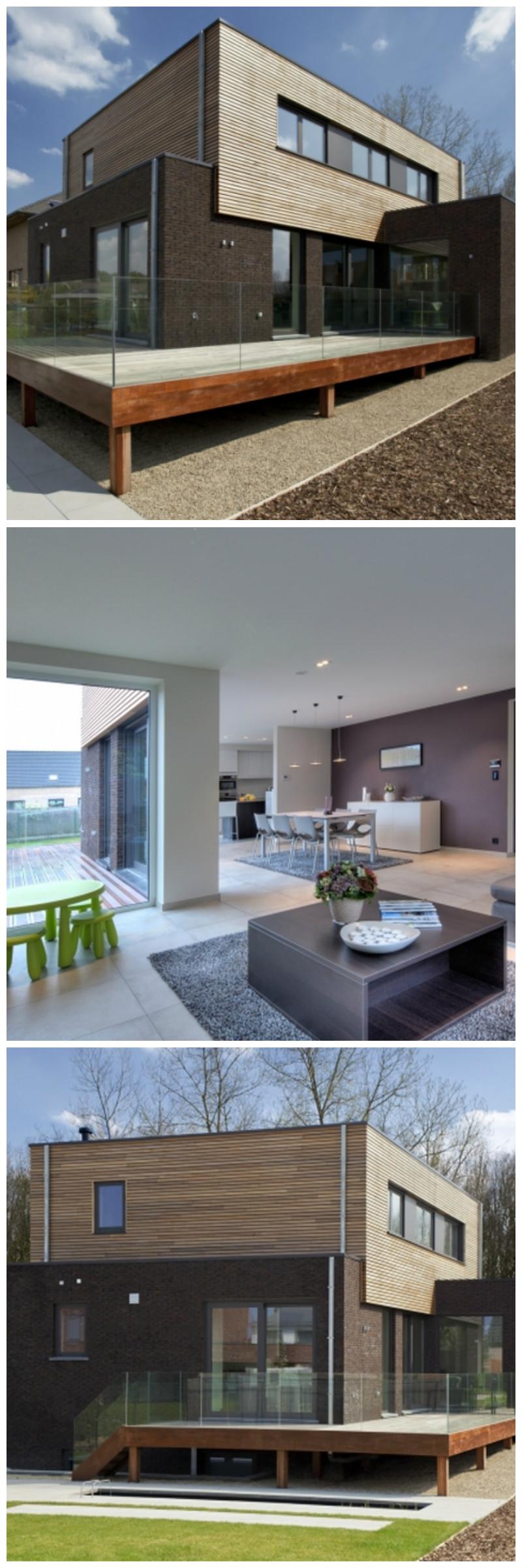 Maison moderne • nouvelle construction • Hannut • piron